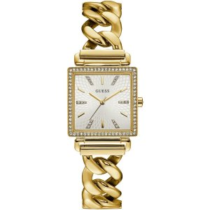 Relógio Feminino Guess W1030L2 Dourado Cravejado