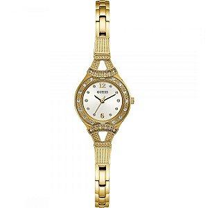 Relógio Feminino Guess W1032L2 Dourado Cravejado