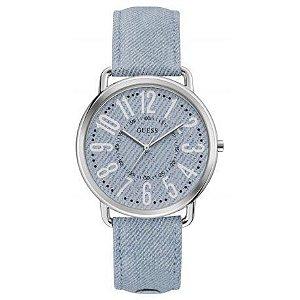 Relógio Feminino Guess W1068L2 Azul Claro