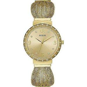 Relógio Feminino Guess W1083L2 Dourado
