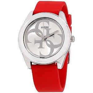 Relógio Feminino Guess w0911l9 Borracha Vermelha