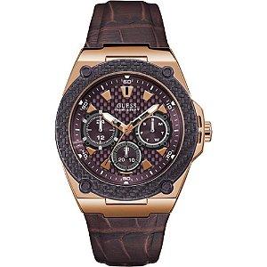 Relógio Feminino Guess W1058G2 Couro
