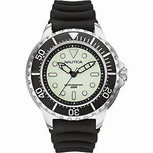 Relógio Masculino Nautica A19583G Preto