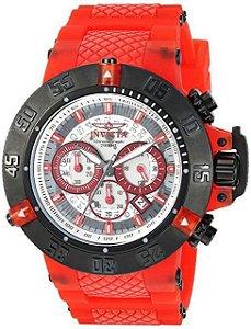 Relógio Masculino invicta Subaqua 24364 Vermelho