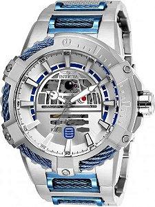 Relógio Masculino invicta Star War 26206 Prata