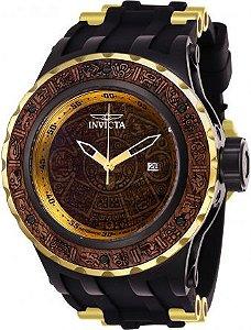 Relógio Masculino Invicta Subaqua 26281 Marrom Madeira