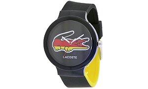 Relógio Masculino Lacoste 2020070 Preto e Amarelo