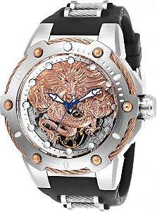 Relógio Masculino Invicta Bolt 26317 Pulseira de Silicone Preta
