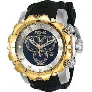 Relógio Masculino Invicta 20406 Pulseira De Silicone Preta