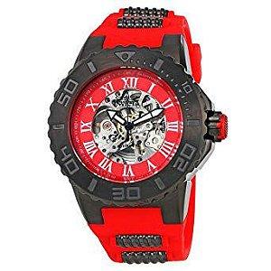 Relógio Masculino Invicta Pro Diver Man 24743 vermelho
