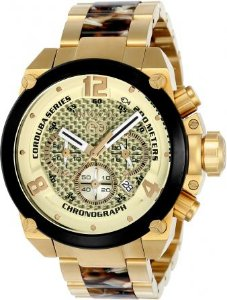 Relógio Masculino Invicta Corduba 24289 Plaque Ouro Cronógrafo Catálogo