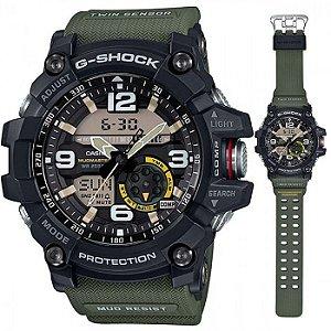 Relógio Masculino Casio G-SHOCK Mudmaster GG-1000-1a3 Verde