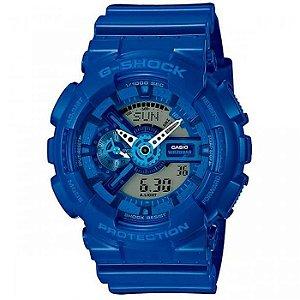 Relógio Masculino Casio G-SHOCK GA-110bc-2ADR Azul