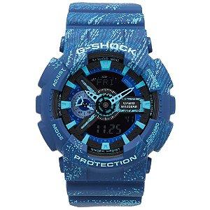 Relógio Masculino Casio G-SHOCK GA-110TX-2ADR Azul