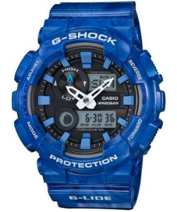 Relógio Masculino Casio G-SHOCK GAX-100MA-2ADR Azul