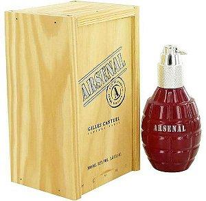 Perfume Masculino Gilles Cantuel Arsenal Red Eau de Parfum