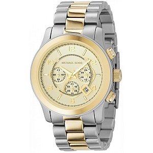Relógio Feminino Michael Kors Mk8098 Dourado