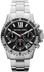 Relógio Feminino Michael Kors MK5753 Prata Cravejado