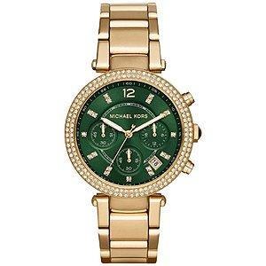 Relógio Feminino Michael Kors MK6263 Dourado Cravejado