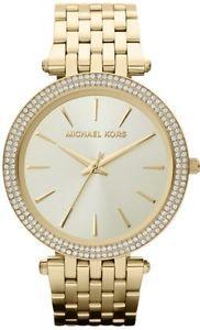 Relógio Feminino Michael Kors MK3216 Dourado Cravejado