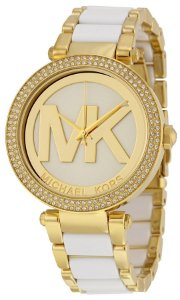Relógio Feminino Michael Kors MK6313 Dourado Cravejado