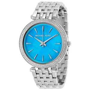 Relógio Feminino Michael Kors MK3515 Prata Cravejado