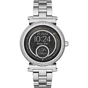 Relógio Feminino Michael Kors MKT5020 Access Sofie Gen 2 Lançamento Prata