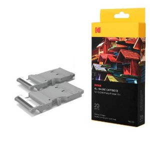 Cartucho de Impressora Kodak Photo Printer Mini PHC-20 + 20 Folhas
