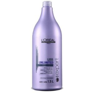 Shampoo Loreal Liss Unlimited 1,500 Litros