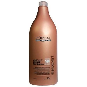 Shampoo Loreal Professionnel Serie Expert Absolut Repair Pos-Quimica 1500ML