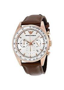 Relógio Masculino Emporio Armani AR5996 Couro