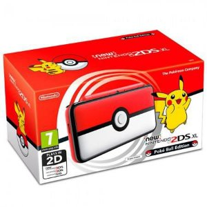 Console Nintendo New 2DS XL Pokeball Edition