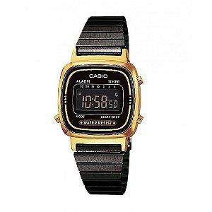 Relógio Feminino Casio Vintage LA-670WEGB-1B Dourado