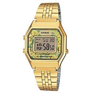 Relógio Feminino Casio Modelo LA680WGA-9C Dourado
