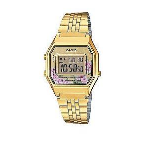 Relógio Feminino Casio Modelo LA680WGA-4C Dourado