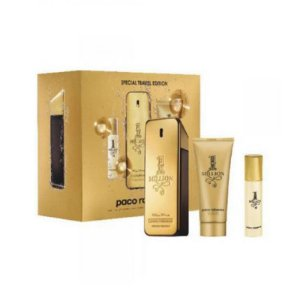 Kit Perfume Paco Rabanne 1 Million 100ml + Mini 10ml +  100ml