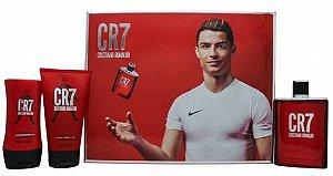 Kit Perfume Masculino Cristiano Ronaldo CR7 Edt 100ML + Body Shower 150 + Balsamo 100