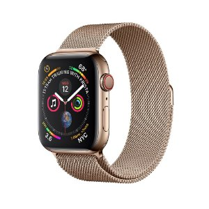 2f201e6625d Relógios   Presentes. Apple Watch Serie 4 ( Celular + GPS ) 44mm Pulseira  Malha Milanese
