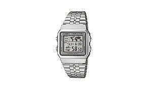 Relógio Unissex A500WA-7D Prata