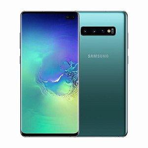 "Smartphone Samsung Galaxy S10 Plus Dual Chip 4G Tela 6.4"" Polegadas"