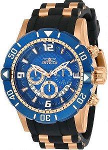Relógio Masculino invicta Pro Diver 23713 Ouro Rose