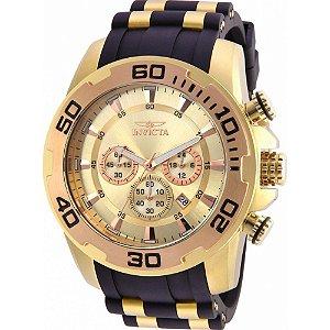 Relógio Masculino Invicta Pro Diver 22342 Dourado