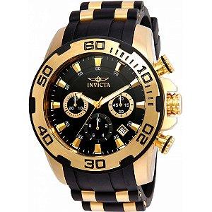 Relógio Masculino Invicta Pro Diver 22344 Dourado