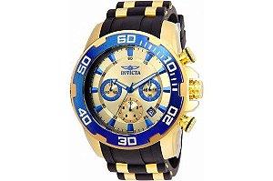 Relógio Masculino Invicta Pro Diver 22343 Dourado