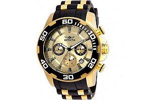 Relógio Masculino Invicta Pro Diver 22346 Dourado