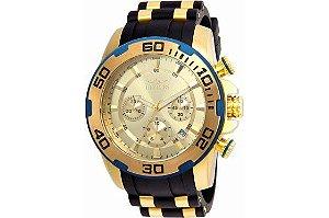 Relógio Masculino Invicta Pro Diver 22345 Dourado
