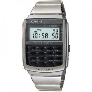 Relógio unissex Casio Retrô Vintage CA506-1D Prata