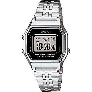 Relógio unissex Casio Vintage LA680WA-1D Prata