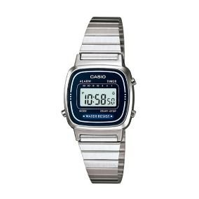 Relógio unissex Casio Vintage LA670WA-2D Prata