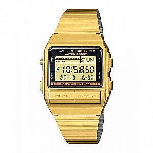 Relógio unissex Casio Vintage DB380G-1D dourado